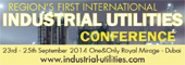 1st International Industrial Utilities Conference -2014