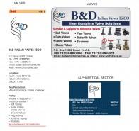 B&D Italian Valves FZCO