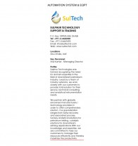 Sulphur Technology Support & Trading