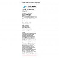 Jansal Calibration Services