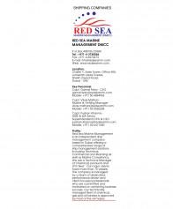 Red Sea Marine Management (DMCC) - P O Box 488156, Dubai, United