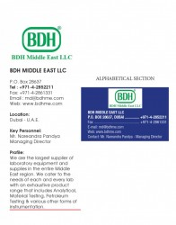 BDH Middle East LLC - P O Box 28637, Dubai, United Arab