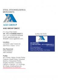 AGE Group DMCC - P O Box 5762, 36th Floor, X2, Jumeirah Bay Tower